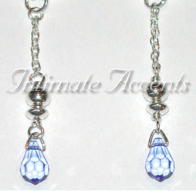 Arabesque Nipple Dangles - Style 5 Twisted Adjustable Doubl