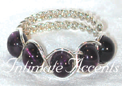 Braided Beaded Cock Circlet Style 5