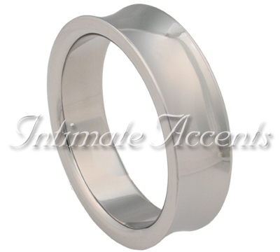 Polished Solid Stainless Steel Cock Ring